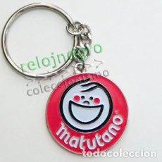 Coleccionismo de llaveros: LLAVERO DE MATUTANO - LOGOTIPO - DE METAL - PUBLICIDAD - LOGO - MARCA DE COMIDA - BUEN ESTADO. Lote 278820078