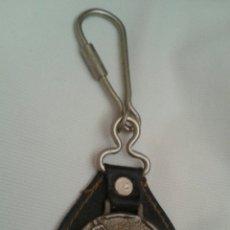 Coleccionismo de llaveros: LLAVERO METAL CUERO PALETA PINTOR. Lote 95943215