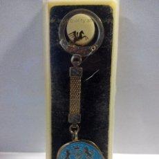 Coleccionismo de llaveros: LLAVERO RELOJES ORIENT DE 1974-SIGNO DEL ZODIACO-TAURO. Lote 97004635