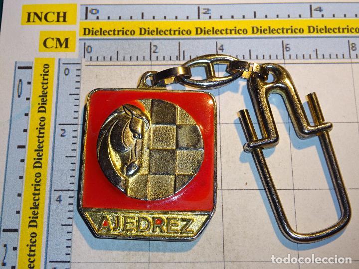 LLAVERO DE DEPORTES. AJEDREZ (Coleccionismo - Llaveros)