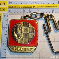 Coleccionismo de llaveros: LLAVERO DE DEPORTES. AJEDREZ. Lote 97086575