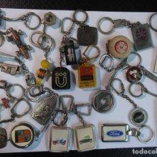 Coleccionismo de llaveros: LOTE DE 25 LLAVEROS ANTIGUOS 60-70 TEMA COCHES- HERRAMIENTAS , VER FOTOS. Lote 99948719