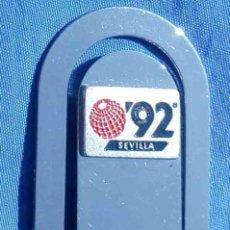 Coleccionismo de llaveros: PINZA-CLIP EXPO 92, SEVILLA. METÁLICO. (3). ENVÍO: 1,10 € *.. Lote 100154935
