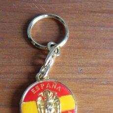 Coleccionismo de llaveros: ANTIGUO LLAVERO UNIDAD INDIVISIBLE ESPAÑA FRANCO IMPECABLE. Lote 100299931