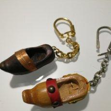 Coleccionismo de llaveros: LOTE LLAVEROS ANTIGUOS. Lote 105053412
