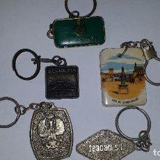 Coleccionismo de llaveros: LLAVEROS- VARIADOS - LOTE 6. Lote 105632819
