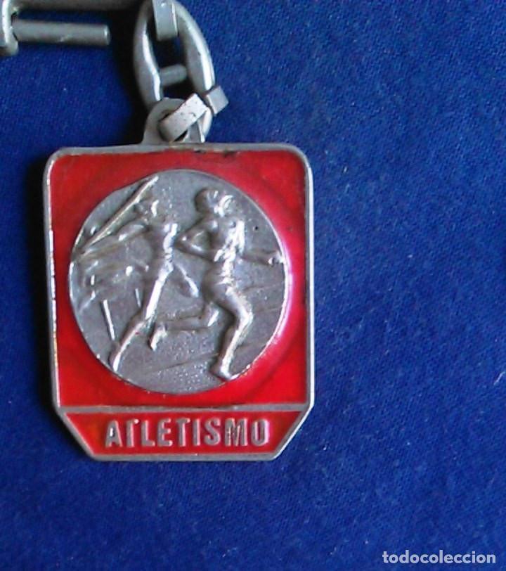 Coleccionismo de llaveros: Llavero Atletismo, mi deporte. - Foto 2 - 107367863