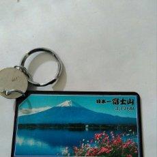 Coleccionismo de llaveros: LLAVERO MONTE FUYI JAPON CON TERMOMETRO. Lote 108042311
