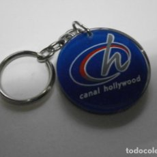 Colecionismo de porta-chaves: LLAVERO CANAL HOLLYWOOD B-114 LLAV-7163. Lote 108219383