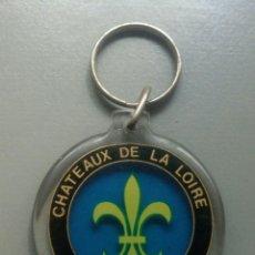 Coleccionismo de llaveros: LLAVERO CHATEAUX DE LA LOIRE FRANCE FLOR DE LIS. Lote 108450039