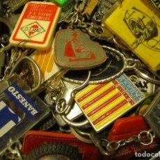 Coleccionismo de llaveros: LOTE MAS DE 100 LLAVEROS . Lote 109897451