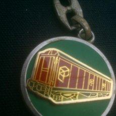 Coleccionismo de llaveros: VAGON RENFE TRENES TREN FERROVIARIO. Lote 110578967