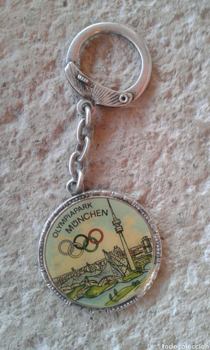 Coleccionismo de llaveros: Llavero Olympiapark München plata - Foto 2 - 111107131
