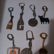 Coleccionismo de llaveros: LLAVEROS DE MARCAS DE BEBIDAS. Lote 112219207