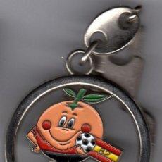 Colecionismo de porta-chaves: LLAVEROS ANTIGUOS LLAVERO LOGO NARANJITO ESPAÑA 82. Lote 112715819