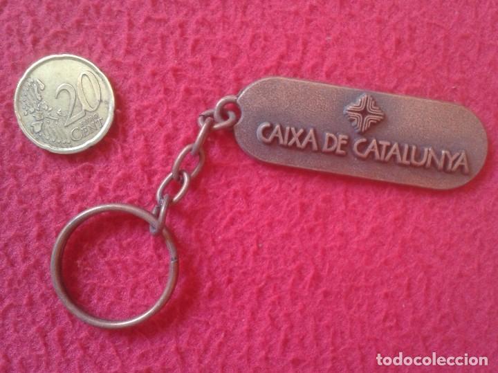 Coleccionismo de llaveros: ANTIGUO LLAVERO KEYRING PORTA-CLÉ KEYCHAIN CAIXA DE CATALUNYA CATALUÑA , BANCOS... CAJAS..VER FOTOS - Foto 2 - 113096887