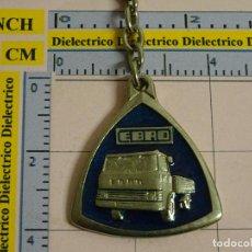 Coleccionismo de llaveros: LLAVERO DE COCHES MOTOS. AÑOS 70 80. CAMIÓN CAMIONETA EBRO. Lote 113213631