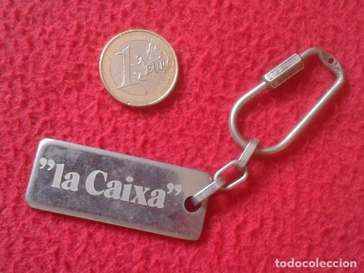 LLAVERO KEYRING KEYCHAIN PORTE-CLÉS LA CAIXA BARCELONA CATALUNYA CATALUÑA, BANCOS, CAJAS.... CAJA VE (Coleccionismo - Llaveros)