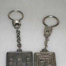 Coleccionismo de llaveros: 2 LLAVEROS. Lote 107449519