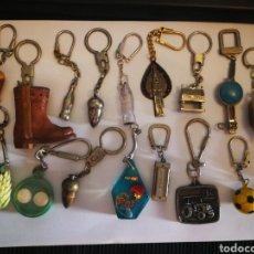 Coleccionismo de llaveros: LOTE DE LLAVEROS ANTIGUOS.. Lote 116470334