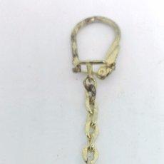 Coleccionismo de llaveros: ANTIGUO LLAVERO CON CARA DE INDIO. Lote 112907559