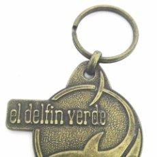 Coleccionismo de llaveros: EL DELFIN VERDE *** CAMPING *** TORROELLA DE MONTGRI *** GIRONA. Lote 58643043
