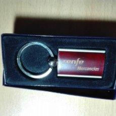 Coleccionismo de llaveros: LLAVERO - RENFE MERCANCIAS - TREN FERROCARRIL. Lote 119043455