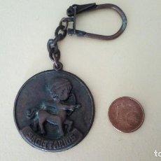 Colecionismo de porta-chaves: LLAVERO ANTIGUO SAGITARIO. Lote 120206263