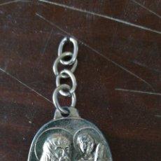Coleccionismo de llaveros: LLAVERO RELIGIOSO 2 CARAS. Lote 121416448