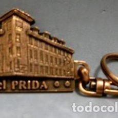 Coleccionismo de llaveros: LLAVERO EN METAL HOTEL PRIDA, RESTAURANTE SIDRERIA. NAVA - ASTURIAS. LLAV-7727- B-126.. Lote 179945791
