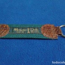Coleccionismo de llaveros: LLAVERO ORIGINAL ( MASSIMO DUTTI ) EAU DE TOILETTE DE LOS 90 . Lote 126063495