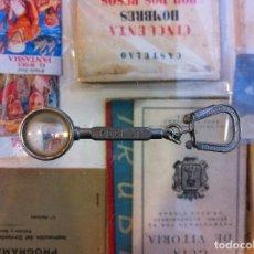 Coleccionismo de llaveros: LLAVERO LUPA CONFECCIONES KERMAR. Lote 126444751