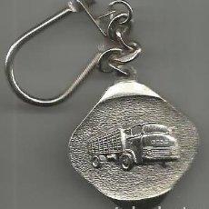 Coleccionismo de llaveros: ANTIGUO LLAVERO AUTOMOVIL CAMION EBRO . Lote 128125039