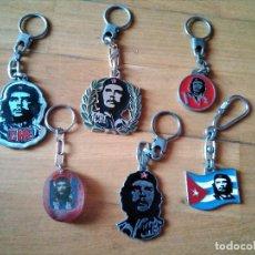 Coleccionismo de llaveros: LOTE LLAVEROS CHE GUEVARA. Lote 129557255