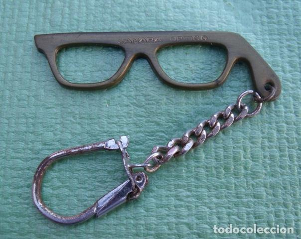 Llavero Gafas Montura Publicitario de Cámara Óptico segunda mano