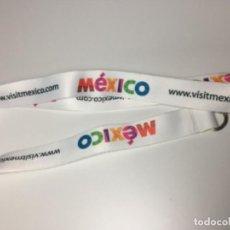 Coleccionismo de llaveros: LANYARD MÉXICO - LANYARDS . Lote 130629322
