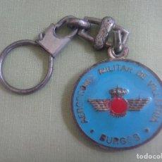 Coleccionismo de llaveros: LLAVERO AERODROMO MILITAR VILLAFRIA BURGOS. MUY DESGASTADO. Lote 131096856