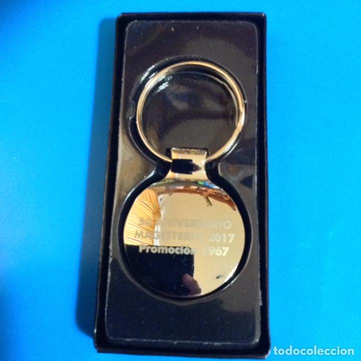 Coleccionismo de llaveros: LLAVERO CON ESCUDO PROFESION MAGISTERIO A ESTRENAR - Foto 2 - 131112812