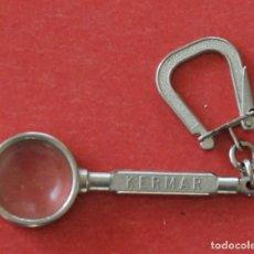 Coleccionismo de llaveros: LLAVERO LUPA CONFECCIONES KERMAR. Lote 133976694