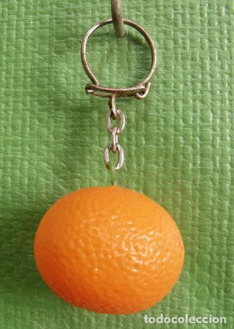 llavero pieza fruta naranja - mandarina - Comprar Llaveros antiguos ... e9e2351a9cc3