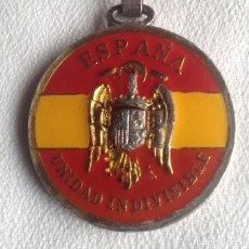 Coleccionismo de llaveros: LLAVERO METALICO ANTIGUO POLICÍA NACIONAL. Lote 135704891
