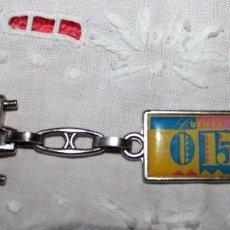 Coleccionismo de llaveros: LLAVERO 0-15 CAJA CANTABRIA SANTANDER-AÑOS 80. Lote 135737251