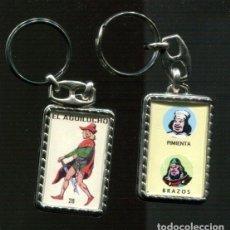 Coleccionismo de llaveros: LLAVEROS COMIC ESPAÑOL: EL AGUILUCHO. Lote 135898173