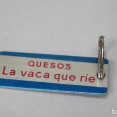 Coleccionismo de llaveros: LLAVERO QUESOS LA VACA QUE RIE. Lote 136204138