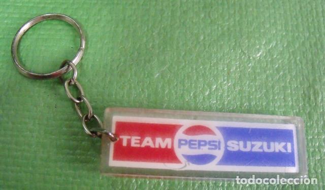 Coleccionismo de llaveros: Llavero Promocional Equipo Team Pepsi Suzuki - Foto 2 - 139113102