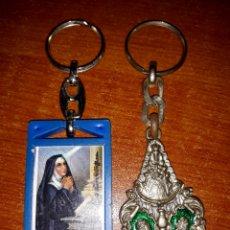 Coleccionismo de llaveros: 2 LLAVEROS RELIGIOSOS. Lote 139480686