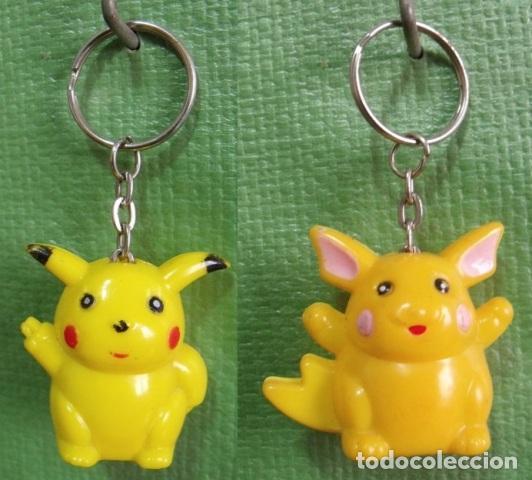 Lote 2 Llaveros Linternas Pokémon Pikachu Y R Kaufen Alte