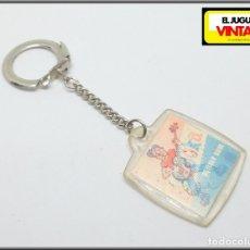 Collectionnisme de portes-clés: LLAVERO ORIGINAL AÑOS 70 80 CHICLE BAZOOKA. Lote 131148324