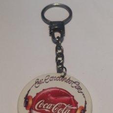 Coleccionismo de llaveros: LLAVERO COCA COLA. Lote 141482610