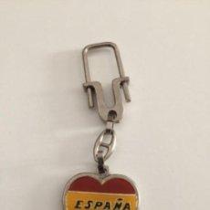 Coleccionismo de llaveros: LLAVERO ESPAÑA - LLAVEROS F. Lote 142030258